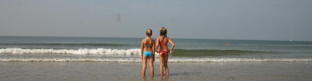2 kinderen en de zee