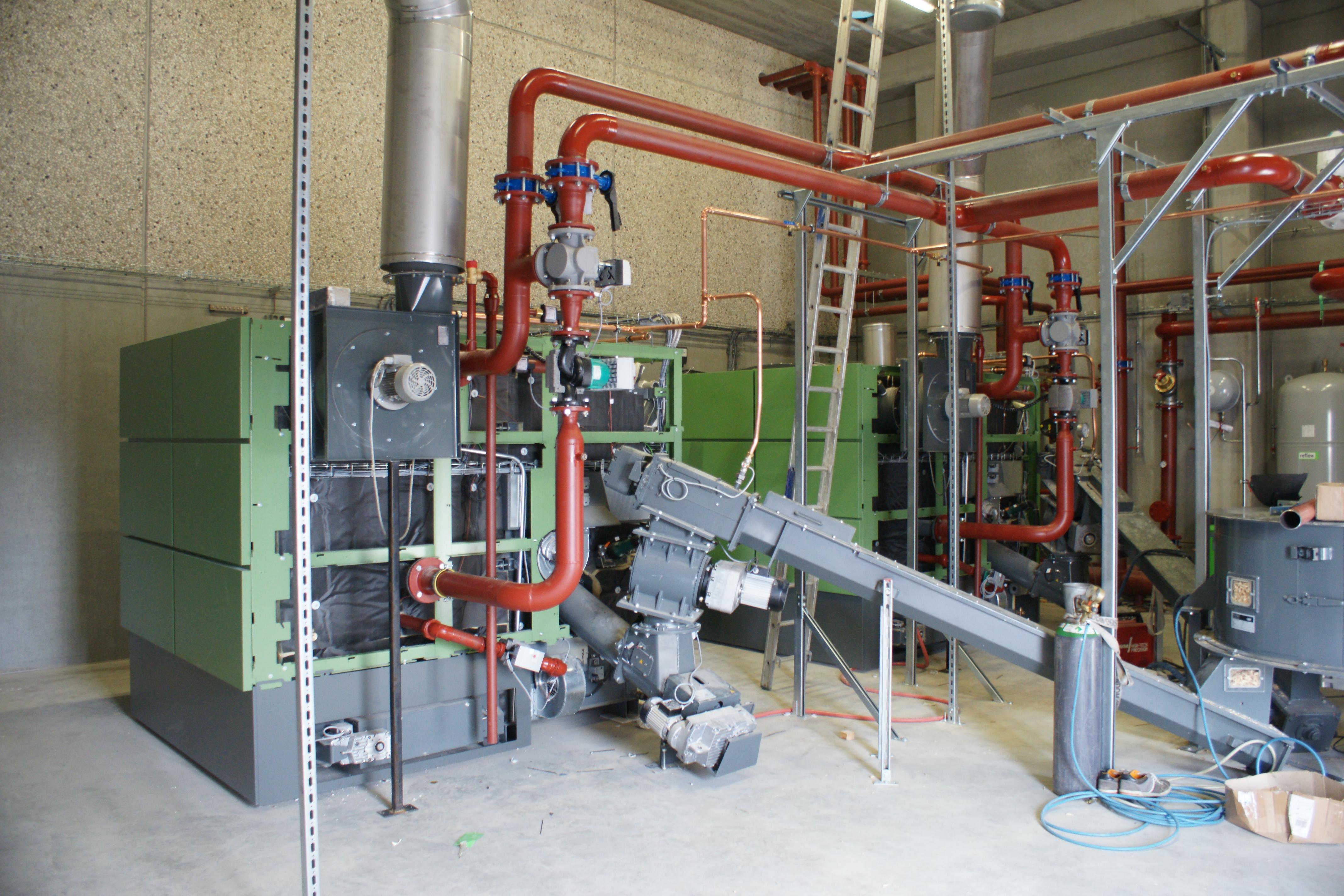 Biomassa-installatie